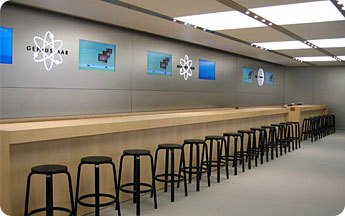 Apple Genius Bar.