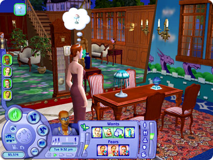 Apple - Games - Articles - The Sims 2 Family Fun Stuff