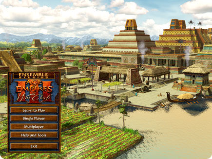 Apple - Games - Articles - Age of Empires III: The WarChiefsaztec city