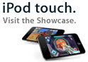 iPod touch. Visit the Games + Apps Showcase.