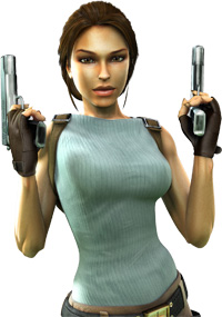 Lara Croft.